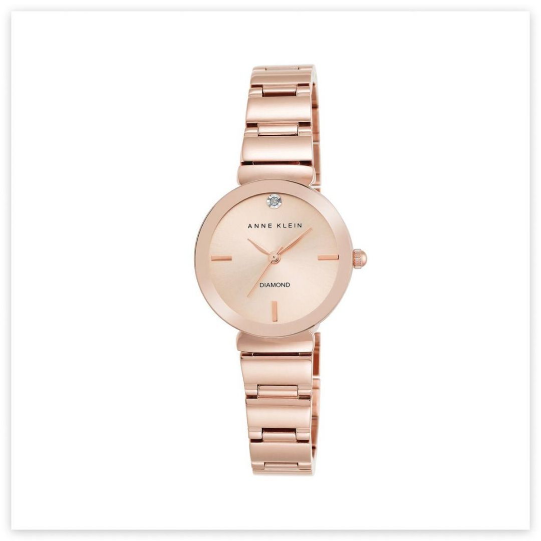 regalo para mama reloj anne klein gold rose
