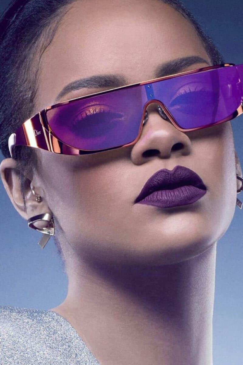 tipos de lentes para cara ovalada mujer rihanna